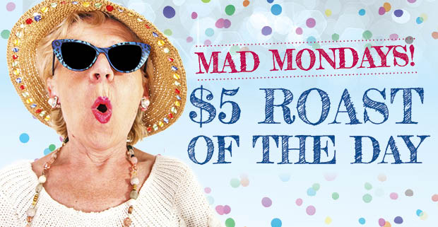 Mad Mondays – for the over 55's