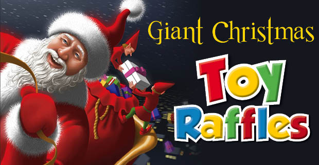Giant Christmas Toy Raffles