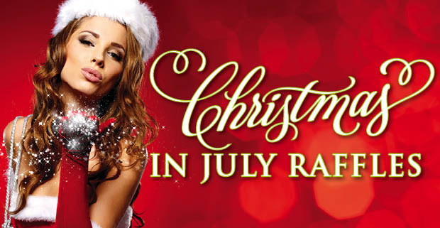 Members FREE Christmas in July Raffles