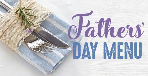 Swish Fathers' Day Menu