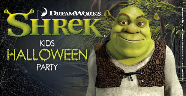 Free Kids Halloween Party with Shrek & DJ Dean