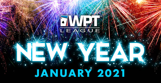WPT League New Year $200,000 GTD