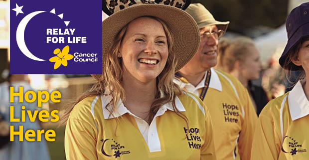 Fairfield Relay for Life goes Around the World