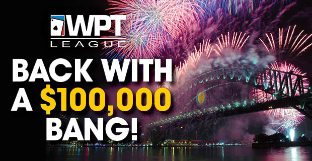 Poker is back with a $100,000 BANG!