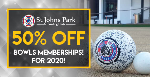 50% OFF Bowls Membership