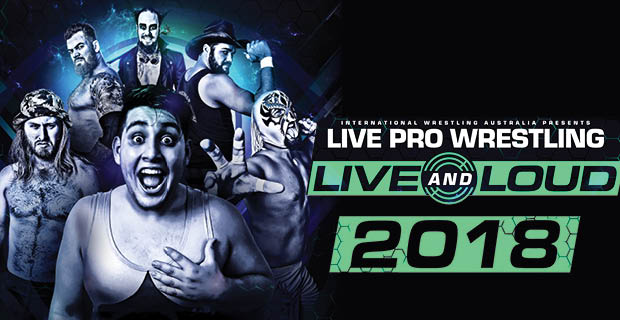 IWA Pro Wrestling – Live and Loud!