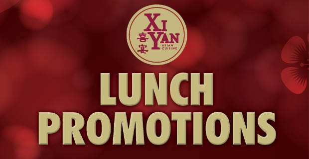 Xi Yan Lunch Promotions
