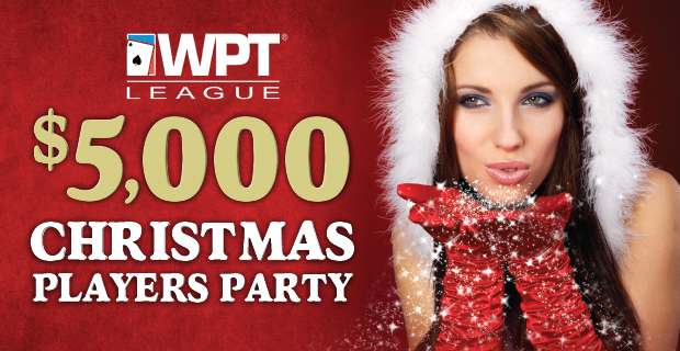 WPT League Christmas Players Party